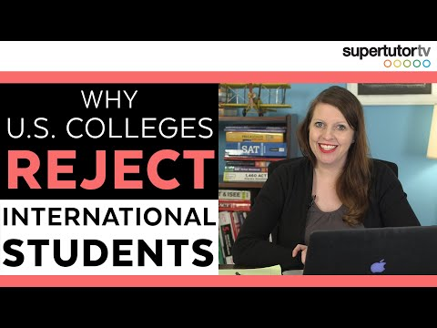 Why US Colleges Reject International Students