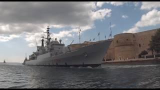 Marina Militare - Ultimo omaggio a 8 navi radiate dal servizio