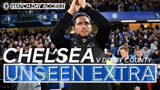 Tunnel Access: The Moment Lampard Came Home, Blues Into Cup Quarter-Finals | Unseen Extra