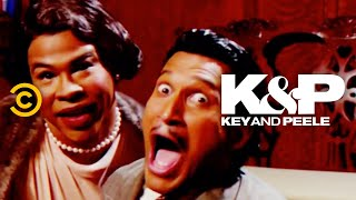 A man and a woman sing a classic holiday song – with a twist.
