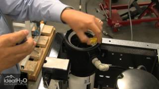 Ideal H2O - Professional Series - Removing the Pressure Vessel End Cap
