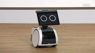 Amazon launches robot to roll around house