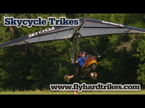 Skycycle Trike, Part 103 legal ultralight trike by Mike Theeke of Flyhardtrikes.com