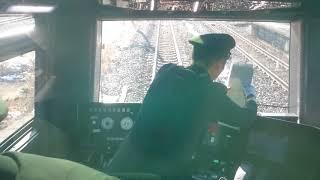 【前面展望】TRAIN SUITE四季島 小牛田でDCからECへ切り替えするところ~鳴瀬川