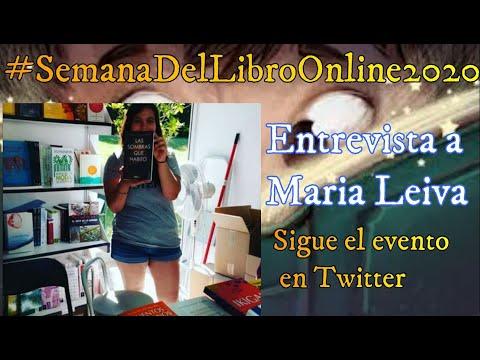 Entrevista a la escritora María Leiva