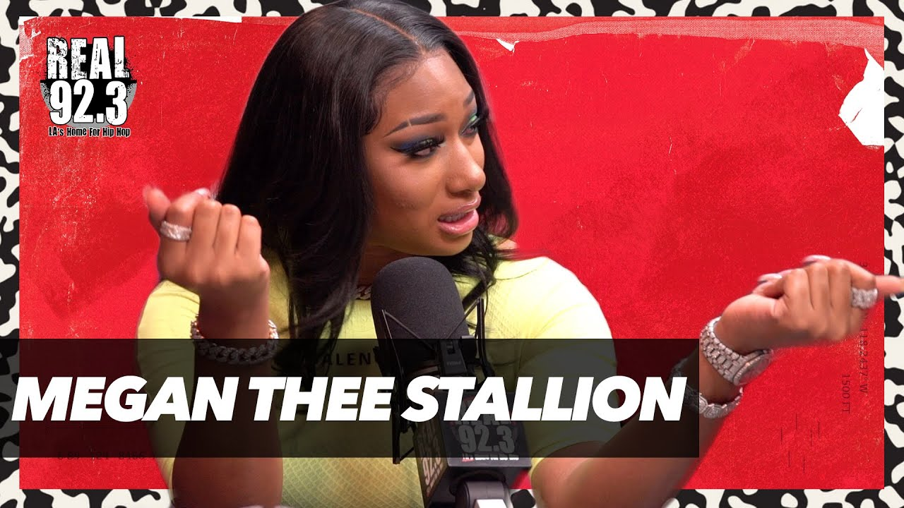 Megan Thee Stallion on REAL 92.3 with Bootleg Kev & DJ Hed