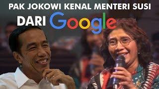 Pak Jokowi kenal Menteri Susi dari Google ! - Talkshow Lustrum XII SMA 1 Yogyakarta