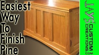 The Best And Easiest Way To Finish Pine - 036
