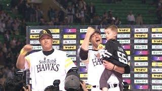 助っ人が投打で活躍!李大浩とスタンリッジのヒーロー2014.04.15H-E