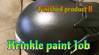 Bobs Helmet Restoration: Humidity Killed my Paint Job