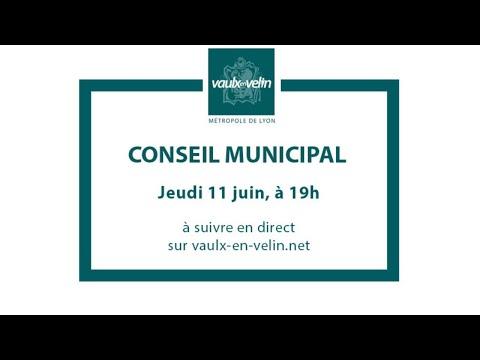 Conseil Municipal – jeudi 11 juin 2020