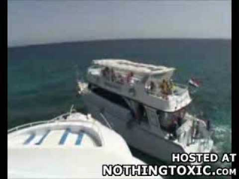 expensive boat collision