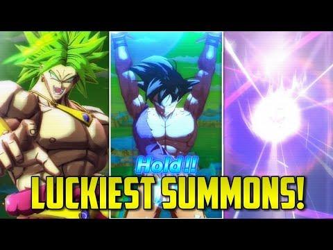 LUCKIEST SUMMONS IN DRAGON BALL LEGENDS (Part 2) | DBL List