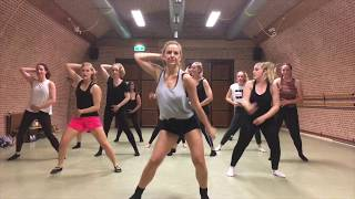 PUUR by Dinne Groothuis: Bonnie Tyler - Holding out for a hero | Broadway Jazz Choreography