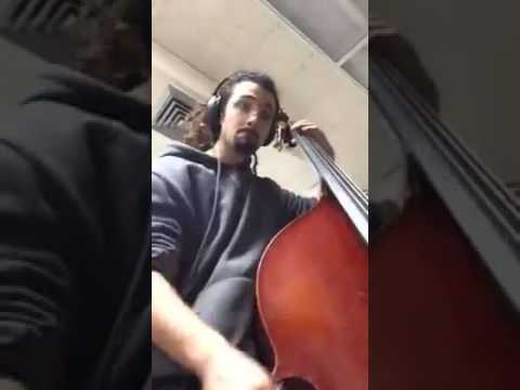 """A bass line transcription originally played by Dave Holland. The song is called """"Country Roads"""" from the album """"Like Minds"""" by Gary Burton."""