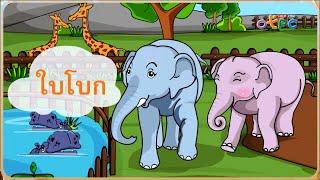สื่อการเรียนการสอน ใบโบกใบบัว (รู้จักคำนำเรื่อง) ป.1 ภาษาไทย