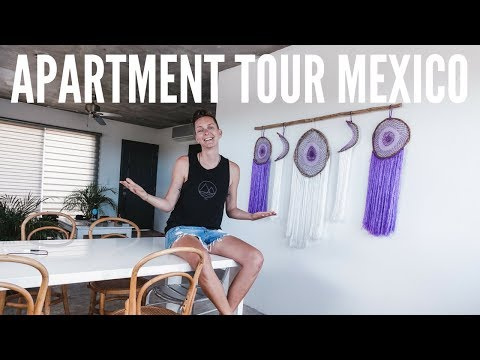 TOUR OF MY APARTMENT IN MEXICO | Playa del Carmen
