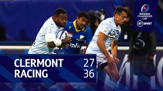 Clermont vs Racing 92 (27-36) | Heineken Champions Cup highlights