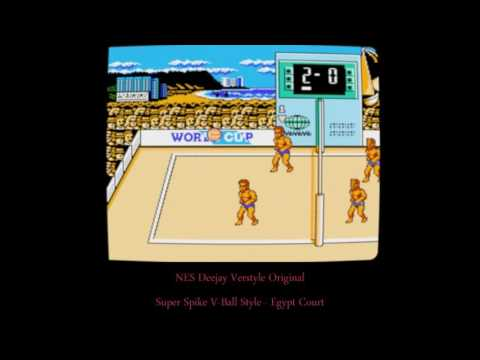 Super Spike V-Ball Original - Egypt Match