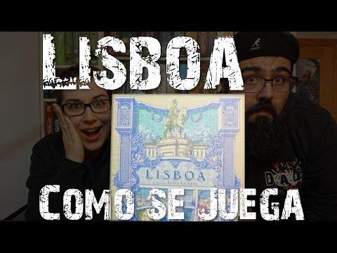 Lisboa - ¿Cómo se juega? - 2 jugadores - Tutorial Español