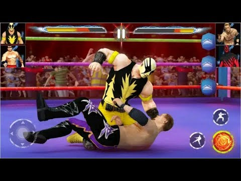 Pro Wrestling Stars 2019 Fight As a Super Legend P2| Real Fighting Game | FMF Games