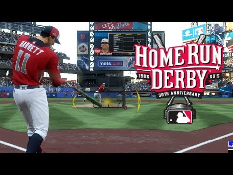 THE HOME RUN DERBY THAT ENDED IN A TIE! MLB The Show 18 Road To The Show