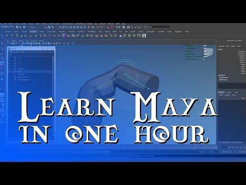 Maya for Beginners – Learn Maya fast in 1 hour