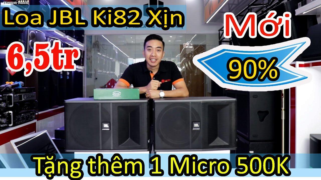 Loa JBL KI82 mới 90% - 6,5tr tặng thêm 1 micro 500k , bao ship