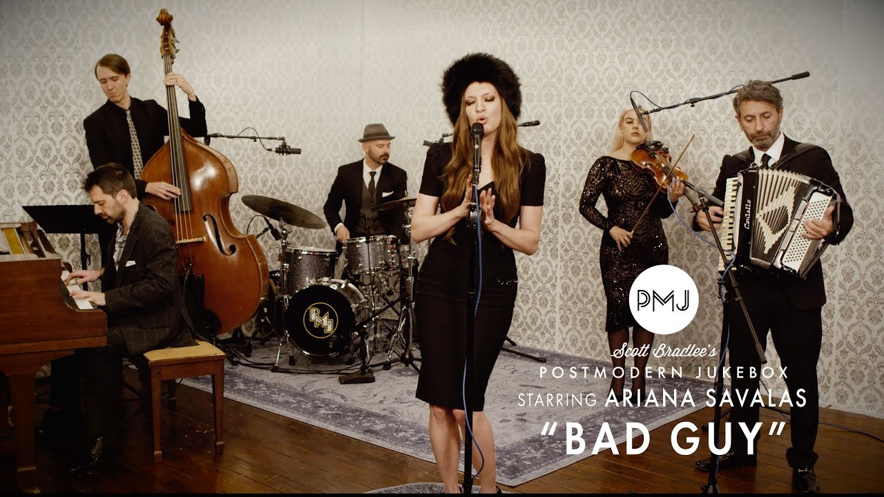 Bad Guy – Billie Eilish (Tango Style Cover) ft. Ariana Savalas