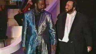 You're The First, The Last, My Everything - Barry White & Luciano Pavarotti.mpg