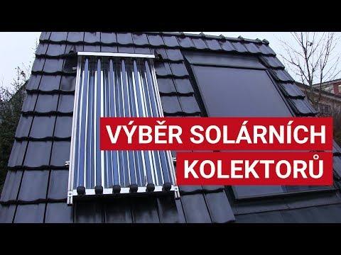 Výběr solárních kolektorů
