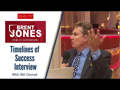 290 Brent Jones for Lieutenant Governor - Nevada - Meet The Voter interview with Bill Conrad