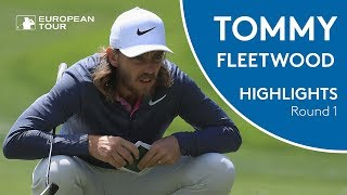 Tommy Fleetwood Highlights | Round 1 | 2018 BMW International Open