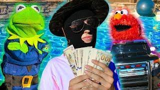 Kermit the Frog and Elmo: Swimming Pool Patrol!