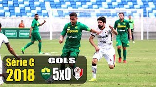 GOLS: CUIABÁ 5 X 0 JOINVILLE - SERIE C 2018 - 14/07/2018