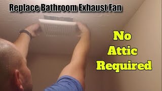 Bathroom Fan Install