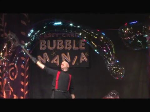 Casey Carle's BubbleMania:  Science, Art & Comedy