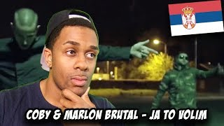 BALKAN RAP REACTION | COBY & MARLON BRUTAL   JA TO VOLIM (OFFICIAL VIDEO)