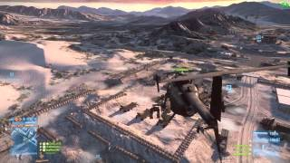 BF3 Scout Helicopter Teamwork (War Is Hell Remix)