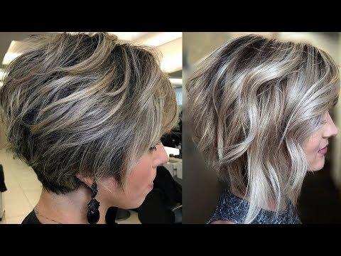 Corte de pelo corto mujer videos