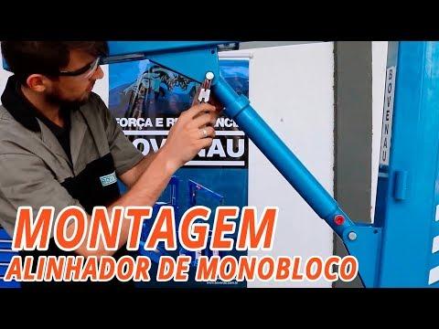 Kit com Alinhador Monobloco Bovenau AM22000 3140mm + Esticador Hidráulico - Video