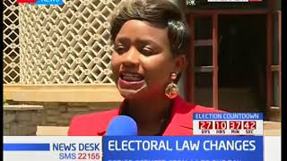 MPs allied to Jubilee vote to reduce publication period of contentious election amendment bill