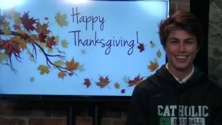 Davis Clem's Thanksgiving Message
