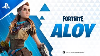 Fortnite - Aloy Gameplay Trailer | PS5, PS4