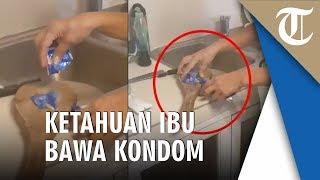 Pemuda Ketahuan Bawa Kondom di Dompet, Ibunya Hukum 'Potong' Pakai Pisau Dapur