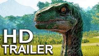 JURASSIC WORLD EVOLUTION Species Trailer (2018) Jurassic Park