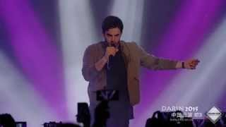 Darin - Nobody Knows (1st concert in Asia, China - 2nd city, Shenzhen)