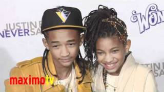"Jaden Smith & Willow Smith ""Never Say Never"" Premiere #JadenSmith #WillowSmith"