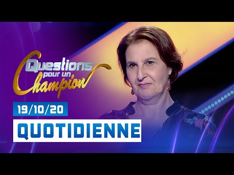 Emission du Lundi 19 Octobre 2020 - Questions pour un champion