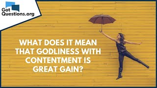What is great contentment